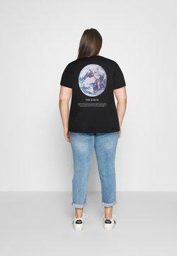 Even&Odd Curvy - T-Shirt print - black