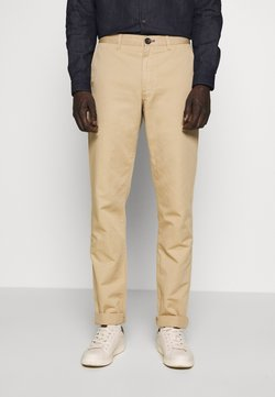 PS Paul Smith - MENS MID FIT STITCHED CHINO - Chinot - camel