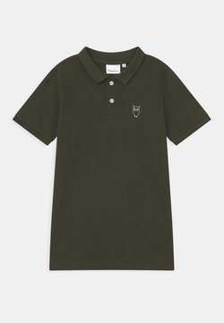 KnowledgeCotton Apparel - BASIL BASIC - Poloshirt - olive