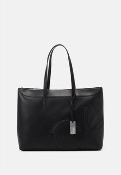 Calvin Klein - SHOPPER COMP - Notebooktasche - black