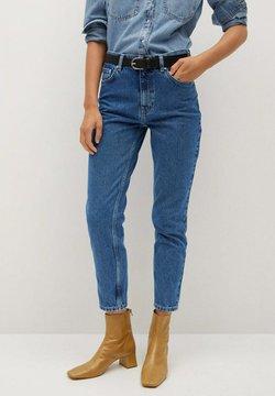 Mango - Slim fit jeans - donkerblauw