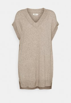 ONLY - ONLLELY  - Pullover - beige/with melange