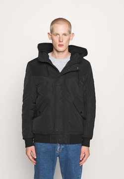 TOM TAILOR DENIM - Winterjacke - black