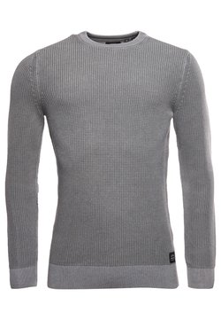 Superdry - ACADEMY  - Maglione - stone grey grit