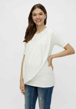 MAMALICIOUS - MLNEWBROOKLYN IRIS - T-shirt con stampa - snow white