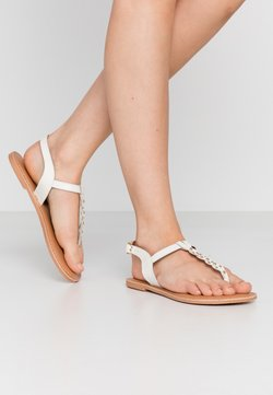 New Look Wide Fit - WIDE FIT GINA - Tongs - offwhite