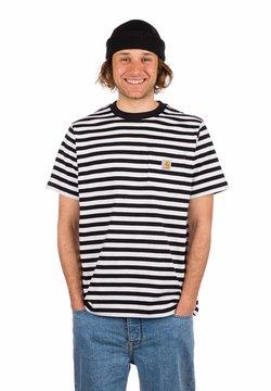 Carhartt WIP - T-Shirt print - scotty stripe/black/white