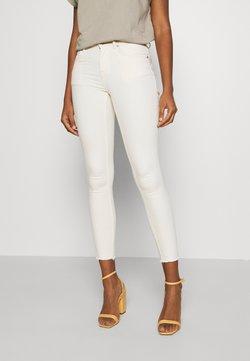 ONLY - ONLBLUSH RAW DOT - Jeans Skinny Fit - ecru