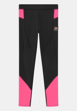 Ellesse - EMILIARA - Tights - black/neon pink