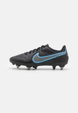 Nike Performance - TIEMPO LEGEND 9 ACADEMY SG-PRO AC - Korki wkręty - black/iron grey