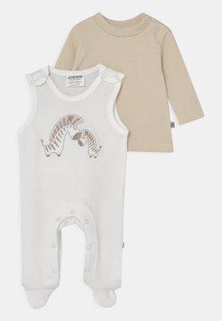 Jacky Baby - ROMPER BASIC LINE SET UNISEX - Mono - off-white/beige