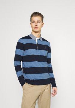 GANT - ORIGINAL HEAVY RUGGER - Poloshirt - denim blue melange