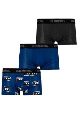 Diesel - 3ER PACK - Panties - blue-black