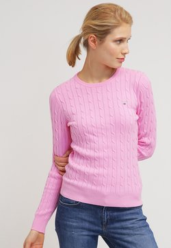 GANT - CABLE CREW - Sweter - pink