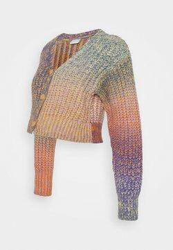 MAMALICIOUS - MLKIA CROPPED CARDIGAN - Jersey de punto - riviera/multicolor