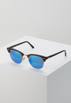 Ray-Ban - 0RB3016 CLUBMASTER - Solbriller - brown/blue