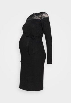 MAMALICIOUS - MLDEA DRESS - Neulemekko - black