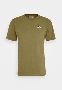 forét - FISH - T-Shirt basic - olive