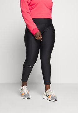 Under Armour - HI RISE LEGGINGS - Tights - black/metallic silver