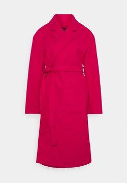 Gina Tricot - IRMA BELTED COAT - Abrigo - fuchsia pink
