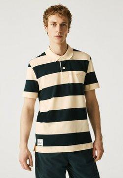 Lacoste - Poloshirt - beige / vert fonce