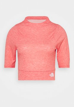 The North Face - VYRTUE CROP - T-Shirt print - horizon red heather