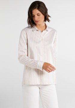 Eterna - Hemdbluse - beige/weiß