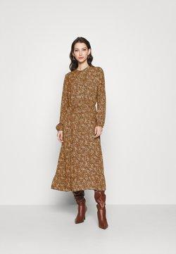 ONLY - ONLLIMA DRESS - Skjortekjole - rust