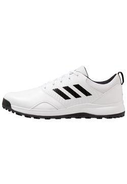adidas Golf - TRAXION - Golfkengät - footwear white/core black/grey six