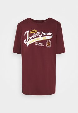 Jack & Jones - JJELOGO TEE O NECK - T-shirt imprimé - port royale