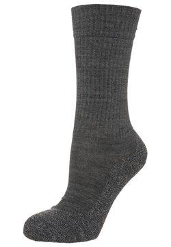 FALKE - ACTIVE WARM - Socken - asphalt meliert