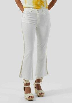 Conbipel - Jeans a zampa - bianco lana