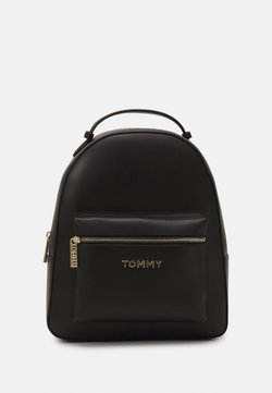Tommy Hilfiger - ICONIC BACKPACK - Reppu - black