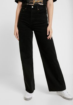 Levi's® - RIBCAGE WIDE LEG - Flared Jeans - black book