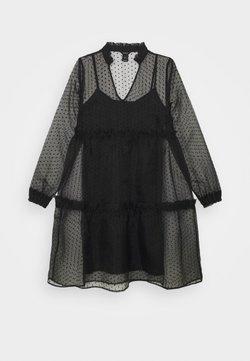 Lindex - DRESS MY - Freizeitkleid - black