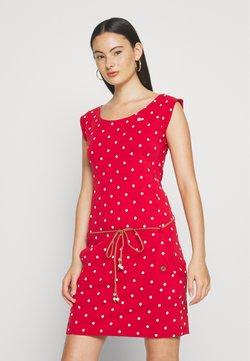 Ragwear - TAG DOTS - Jerseykleid - red