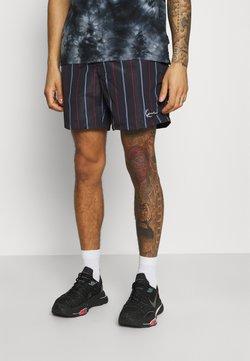 Karl Kani - SMALL SIGNATURE PINSTRIPE - Shorts - black