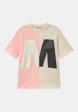 Marni - MAGLIETTA UNISEX - T-Shirt print - quartz rose