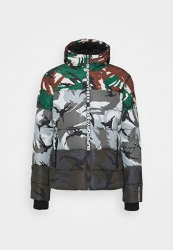 Superdry - CAMO MIX SPORTS PUFFER - Winterjacke - multi-coloured
