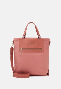Tommy Hilfiger - FRESH TOTE - Shopping bag - rose gold-coloured