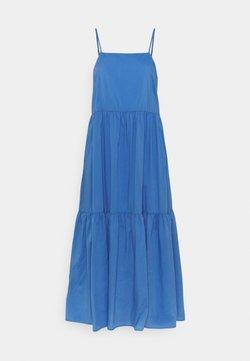 Marc O'Polo DENIM - DRESS STRAPS TIRED - Maxikleid - intense blue