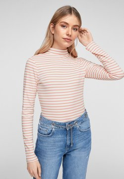 Q/S designed by - Langarmshirt - light pink stripes