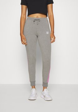 SIKSILK - FADE RUNNER TRACK PANTS - Jogginghose - grey marl