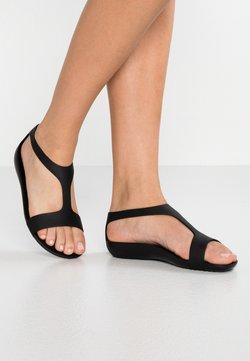 Crocs - SERENA  - Pantoffels - black