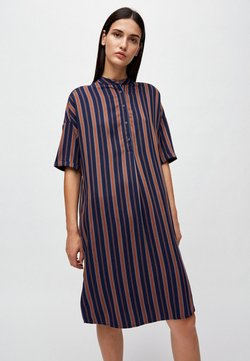 ARMEDANGELS - MAARJULI MULTICOL STRIPES - Freizeitkleid - blue