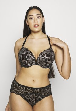 City Chic - BROOKE BRA - Push-up bra - black