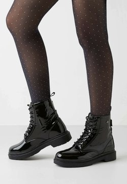 British Knights - Lace-up ankle boots - black shiny