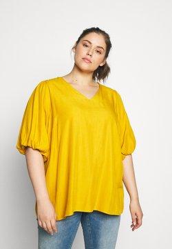 Zizzi - XPURY - Blouse - golden yellow