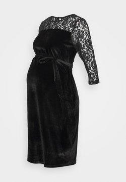 JoJo Maman Bébé - DETAIL FITTED DRESS - Robe en jersey - black