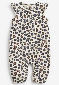 Next - Overall / Jumpsuit - beige, purple